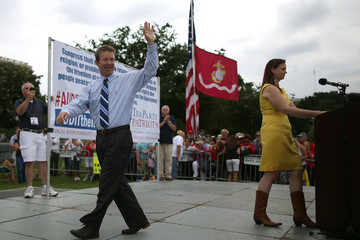 Jenny Beth Martin Tea Party Activists Stage a Protest Against the IRS