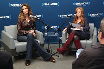 Jenny Hutt Cindy Crawford Appears on 'SiriusXM Leading Ladies' Series Hosted by SiriusXM Host Jenny Hutt