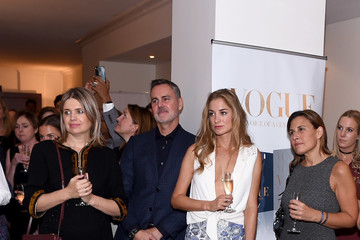 Jenny Packham Celebrating 'Vogue - Voice of a Century' With Genesis Publications and Alexandra Shulman of British Vogue