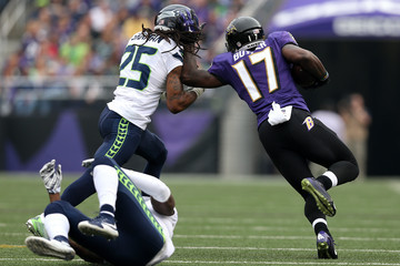 Jeremy Butler Seattle Seahawks v Baltimore Ravens