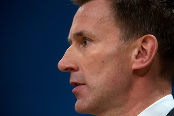Jeremy Hunt The Conservative Party Conference 2016 - Day Three