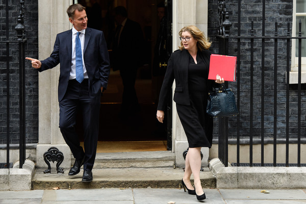 Ministers Attend First Cabinet Meeting After The Summer Recess