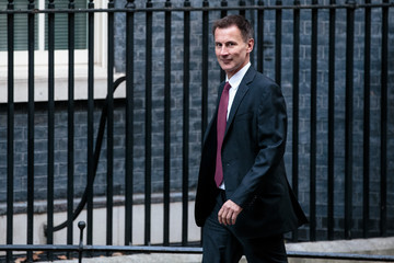 Jeremy Hunt Theresa May Attends Prime Minister's Questions