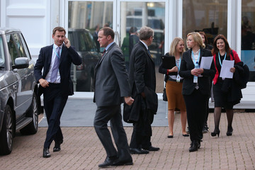 Jeremy Hunt Party Faithful Attend The Annual Conservative Party Conference