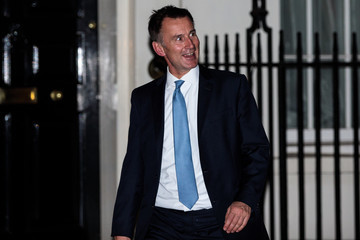 Jeremy Hunt Theresa May Holds Brexit Cabinet Meeting With Key Supportive Ministers