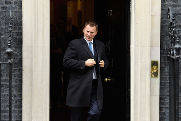 Jeremy Hunt Theresa May Holds Cabinet Meeting Ahead of Tomorrow's Florence Brexit Speech