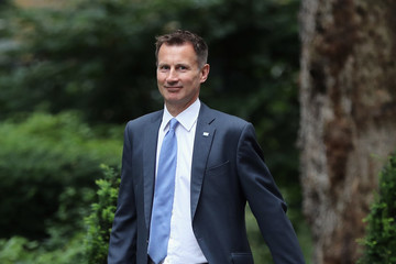 Jeremy Hunt The PM Chairs the First Meeting of the Economy and Industry Strategy Committe
