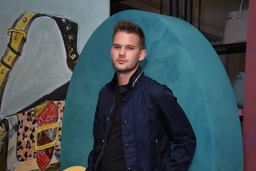 Jeremy Irvine Burberry Private Event - London Collections Men SS17
