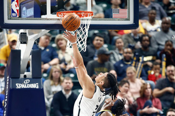 Jeremy Lin Brooklyn Nets v Indiana Pacers