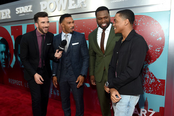 Jeremy Parsons Starz 'Power' The Fifth Season NYC Red Carpet Premiere Event And After Party