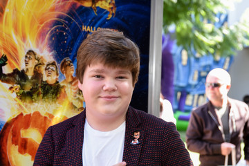 "Jeremy Ray Taylor Columbia Pictures And Sony Pictures Animation's ""Goosebumps 2: Haunted Halloween"" Special Screening - Red Carpet"