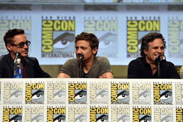 "Jeremy Renner Marvel's Hall H Panel For ""Avengers: Age Of Ultron"""