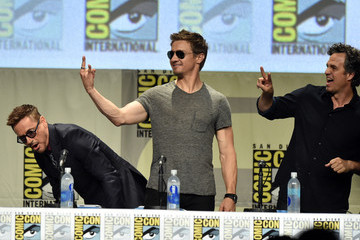 Jeremy Renner Marvel Studios Panel - Comic-Con International 2014