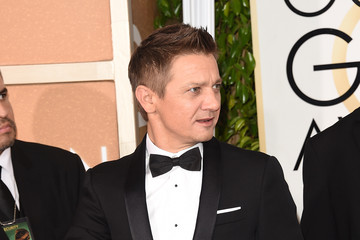 Jeremy Renner Arrivals at the Golden Globe Awards — Part 2