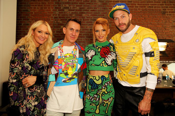 Jeremy Scott Jeremy Scott - Backstage - MADE Fashion Week Spring 2015