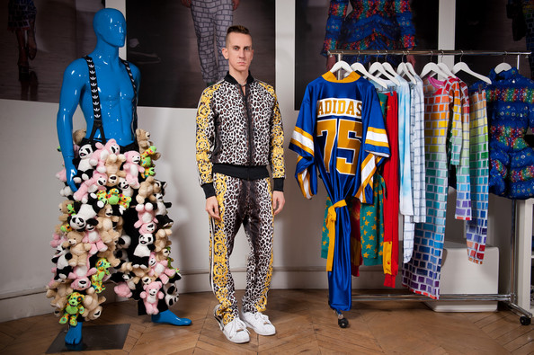 buy popular 5d664 06faa adidas Originals by Jeremy Scott Fall Winter 2012 Showroom in Paris