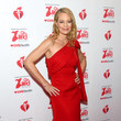 Jeri Ryan The American Heart Association's Go Red For Women Red Dress Collection 2020 - Arrivals & Front Row