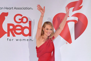 Jeri Ryan The American Heart Association's Go Red For Women Red Dress Collection 2020 - Runway