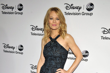 "Jeri Ryan Disney ABC Television Group's ""2013 Winter TCA Tour"" Red Carpet Event - Arrivals"