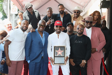 Jermaine Dupri Teddy Riley Honored With A Star On The Hollywood Walk Of Fame