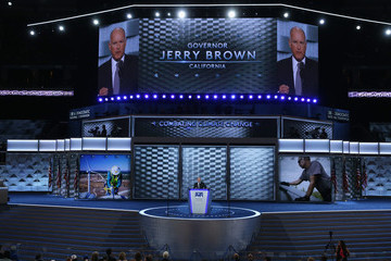 Jerry Brown Democratic National Convention: Day Three