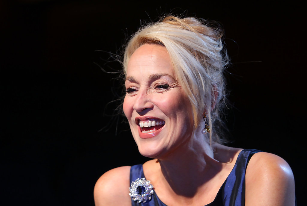 jerry hall photos photos jerry hall performs quotthe