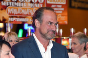 Actor Christopher Meloni leaves a memorial for Jerry Lewis at the South Point Hotel & Casino on September 4, 2017 in Las Vegas, Nevada. Lewis died on August 20, 2017, at his home in Las Vegas at age 91.
