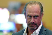 Actor Christopher Meloni arrives at a memorial for Jerry Lewis at the South Point Hotel & Casino on September 4, 2017 in Las Vegas, Nevada. Lewis died on August 20, 2017, at his home in Las Vegas at age 91.