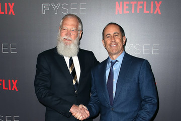 Jerry Seinfeld Netflix #FYSEE 'My Next Guest Needs No Introduction With David Letterman' FYC Event