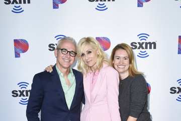 Jess Cagle Julia Cunningham Judith Light Visits SiriusXM's The Jess Cagle Show At The SiriusXM Studios