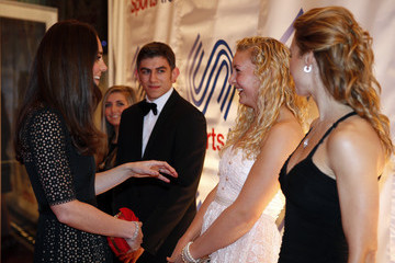 Jess Leyden Kate Middleton at the SportsAid Annual Dinner