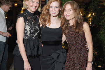 """Jess Weixler Jessica Chastain The Cinema Society & Manifesto Yves Saint Laurent Host A Screening Of The Weinstein Company's """"Lawless"""" - After Party"""