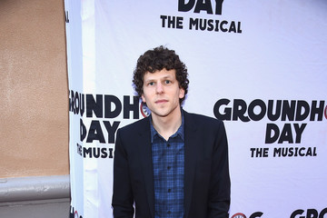 "Jesse Eisenberg ""Groundhog Day"" Broadway Opening Night - Arrivals & Curtain Call"
