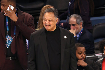 Jesse Jackson Celebrities Attend The 68th NBA All-Star Game - Inside