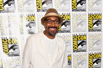 Jesse L. Martin Comic-Con International 2017 - 'The Flash' Press Line