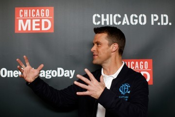 Jesse Spencer NBC's 'One Chicago' Press Day
