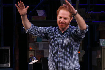 Jesse Tyler Ferguson 'Fully Committed' Broadway Opening Night - Arrivals & Curtain Call