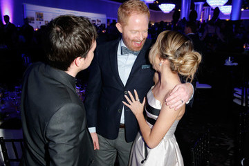 Jesse Tyler Ferguson Sarah Hyland 2nd Annual unite4:humanity Presented By ALCATEL ONETOUCH - Backstage And Audience