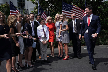 Jesse Watters President Trump Holds 'Celebration Of America' Event On South Lawn Of White House
