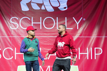 Jesse Williams Chance the Rapper Chance the Rapper, Jesse Williams, and Christopher Gray Host Scholly Scholarship Summit in Chicago