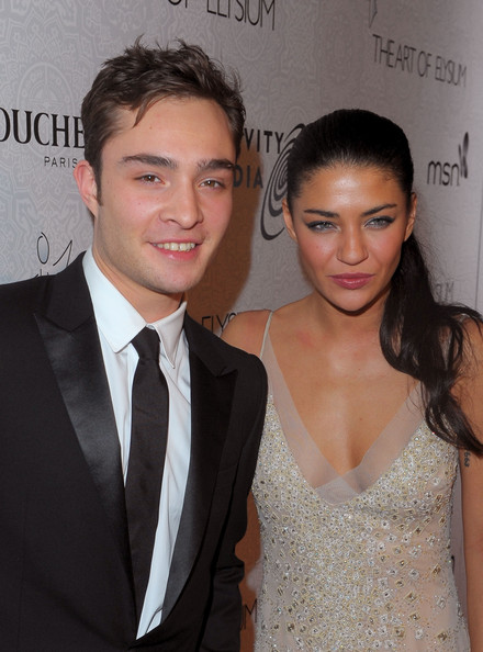 jessica szohr and ed westwick. Jessica Szohr and Ed Westwick