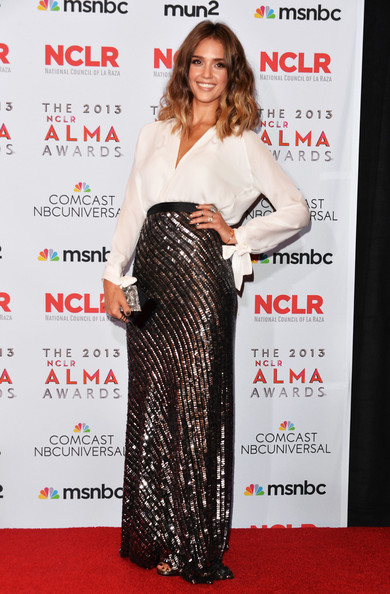 Jessica Alba - 2013 NCLR ALMA Awards - Winner's Walk