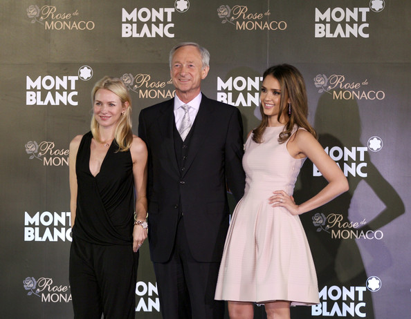 World Premiere Of Montblanc Biggest Concept Store In Beijing - Interviews & Press Conference
