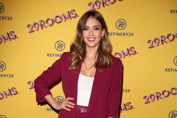 Jessica Alba Refinery29's 29Rooms San Francisco: Turn It Into Art Opening Party 2018