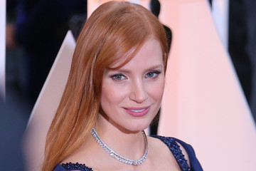 Jessica Chastain Alternative View of the 87th Annual Academy Awards
