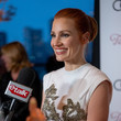 """Jessica Chastain """"The Eyes Of Tammy Faye"""" – TIFF World Premiere – Pre-Reception"""