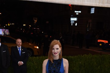 Jessica Chastain 'Manus x Machina: Fashion in an Age of Technology' Costume Institute Gala