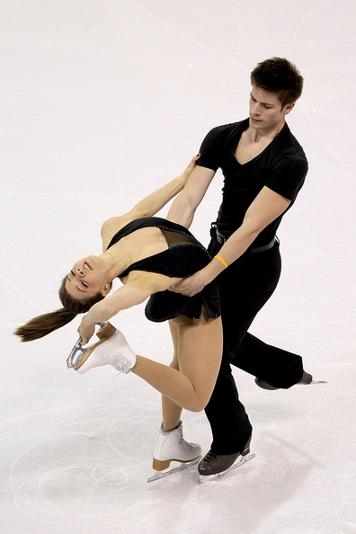 2012 Four Continents Figure Skating Championships - Day 3 [figure skate,figure skating,ice skating,ice dancing,skating,ice skate,recreation,dancer,athletic dance move,ice rink,jessica dube,sebastien wolfe,pairs short program,colorado springs,canada,world arena,four continents figure skating championships]