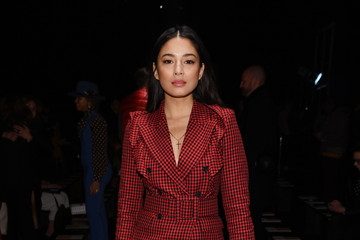 Jessica Gomes Michael Kors FW20 Runway Show - Front Row