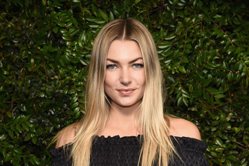 Jessica Hart Charles Finch And Chanel Pre-Oscar Awards Dinner At Madeo In Beverly Hills